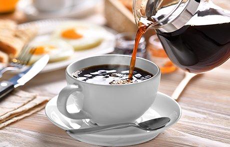 Desayuno con café