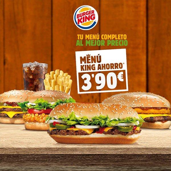 Menú King Ahorro 3'90€