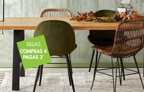 Mesa con sillas comedor CASA
