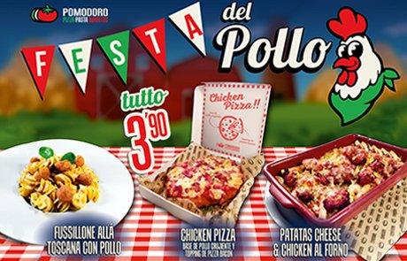 Promoción Pomodoro Festa del Pollo