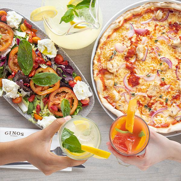 Comida italiana Ginos