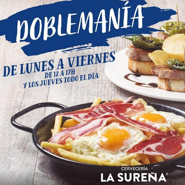 Doblemanía: promoción La Sureña