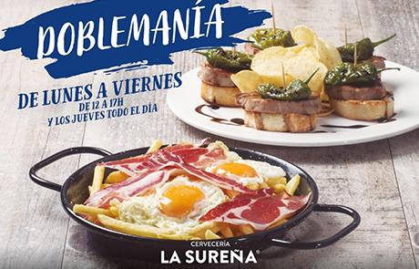 Promoción especial Doblemanía en La Sureña