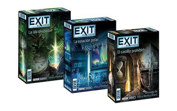 Juego de mesa Exit