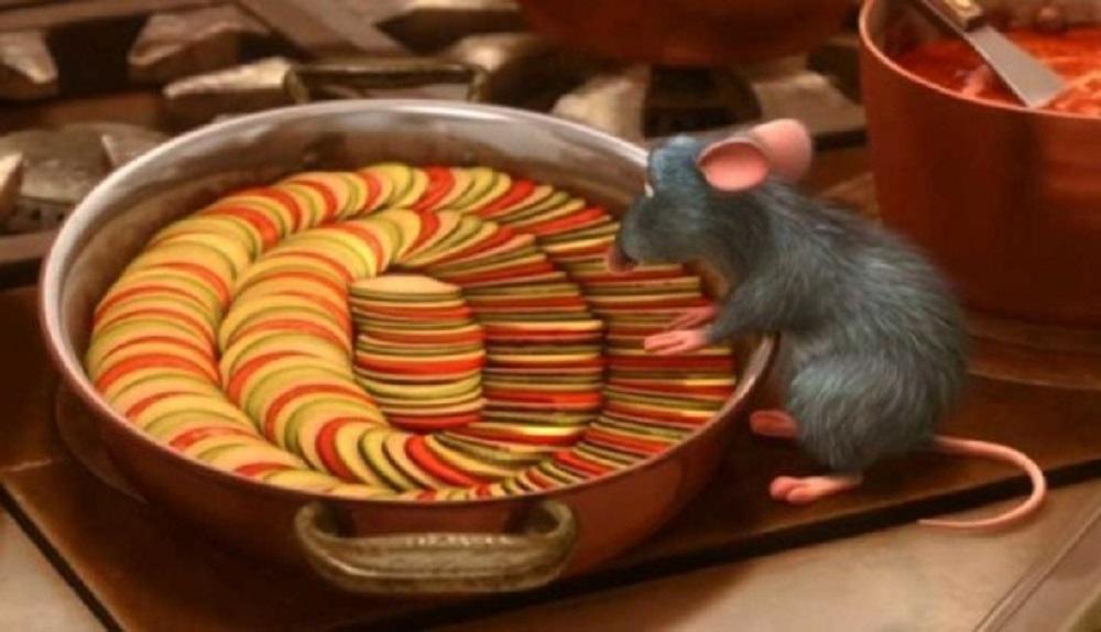 comidas de película Ratatouille