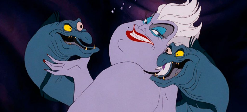 úrsula villanos de Disney