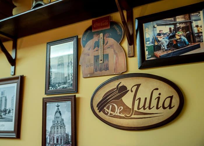 Interior restaurante Blanco's de Julia Alcalá de Henares