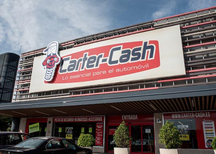 Zona exterior Carter Cash Alcalá de Henares Quadernillos
