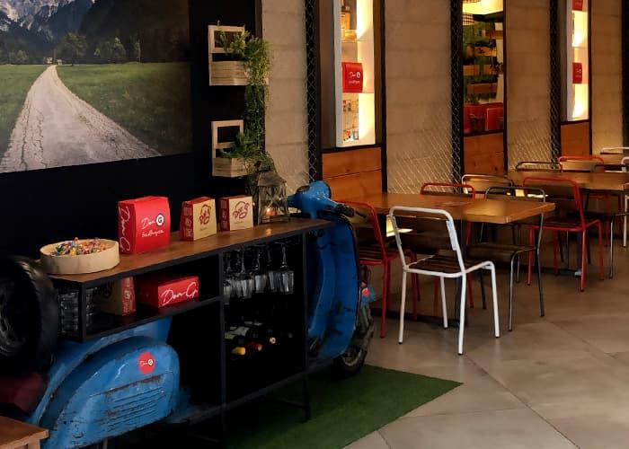 Interior restaurante Don G