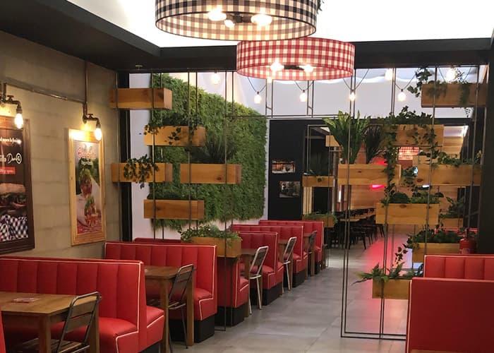 Interior restaurante Quadernillos Don G Alcalá de Henares