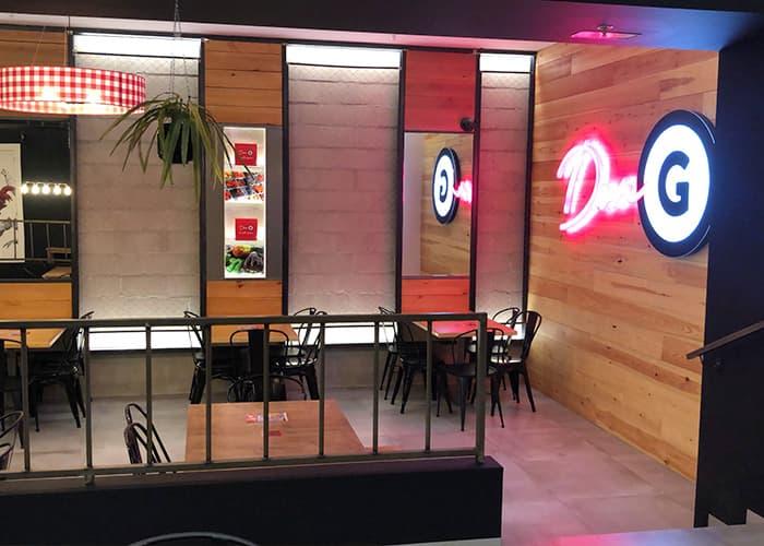 Mesas restaurante Don G
