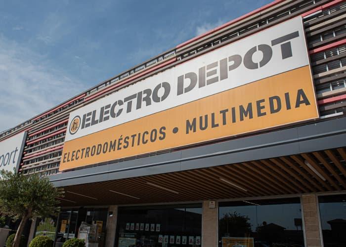 Entrada Electro Depot Alcalá de henares