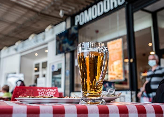 terraza restaurante Pomodoro Quadernillos