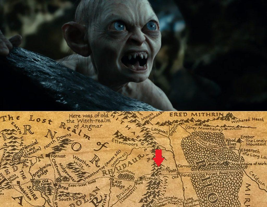 Escena película El hobbit