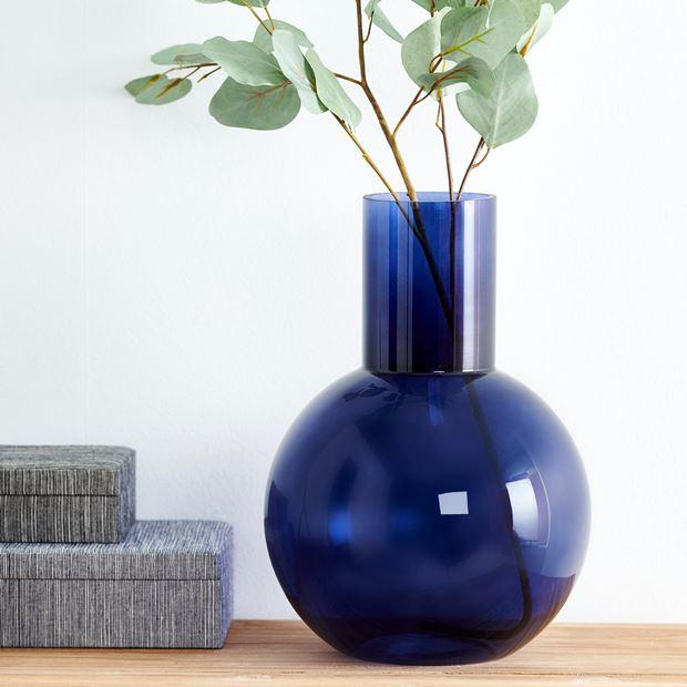 florero azul